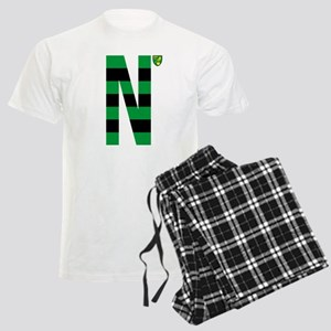 Norwich City Stripes Green an Men's Light Pajamas