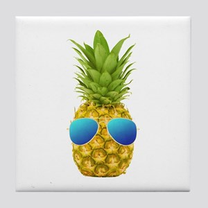 Cool Pineapple Tile Coaster
