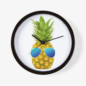 Cool Pineapple Wall Clock