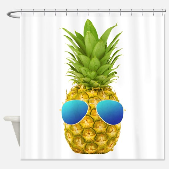 Cool Pineapple Shower Curtain