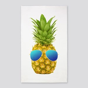 Cool Pineapple Area Rug
