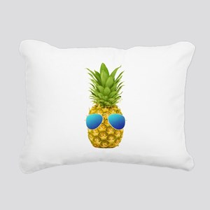 Cool Pineapple Rectangular Canvas Pillow