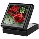 Love and Roses Keepsake Box