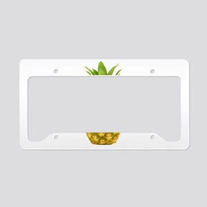 Cool Pineapple License Plate Holder