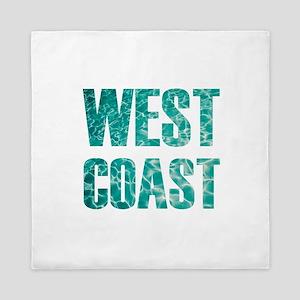west coast Queen Duvet