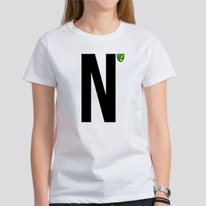 Norwich City In Blac Women's Classic White T-Shirt