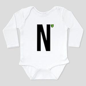 Norwich City In Black Long Sleeve Infant Bodysuit