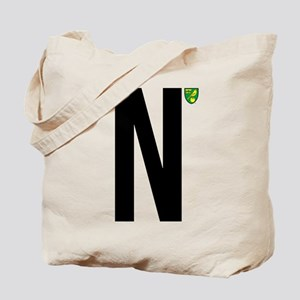 Norwich City In Black Tote Bag