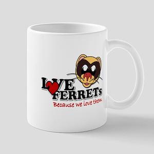 Logo LoveFerrets Mug