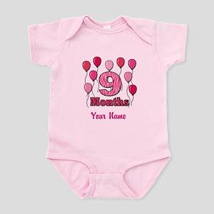 Nine Months - Baby Milestones Body Suit