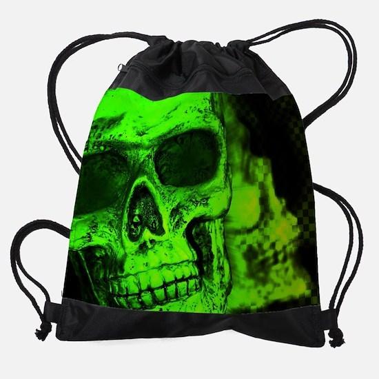 Cute Skull Drawstring Bag