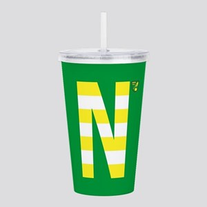 Norwich City in Yellow Acrylic Double-wall Tumbler