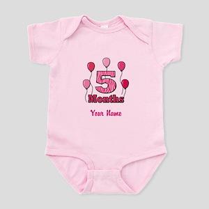 Five Months - Baby Milestones Body Suit