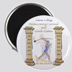 Adams College Homecoming Magnet