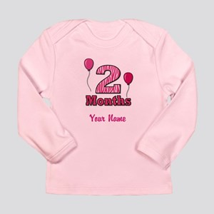 Two Months - Baby Milestones Long Sleeve T-Shirt