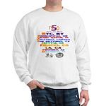 FDO 5 Cities / FDO 5 Back Sweatshirt