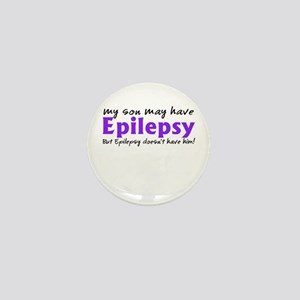 My son may have epilepsy Mini Button