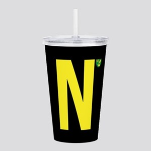 Norwich City in Black Acrylic Double-wall Tumbler
