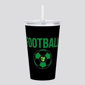 Norwich City Football Acrylic Double-wall Tumbler