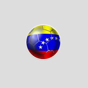 Venezuela Soccer Ball Mini Button