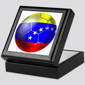 Venezuela Soccer Ball Keepsake Box