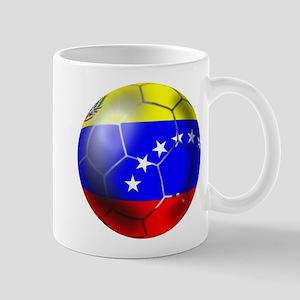 Venezuela Soccer Ball Mug