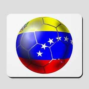 Venezuela Soccer Ball Mousepad