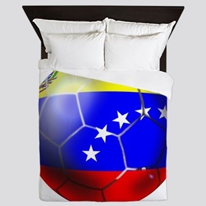 Venezuela Soccer Ball Queen Duvet