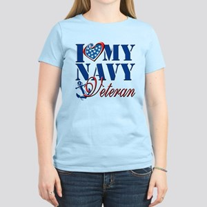 I Love My Navy Veteran T-Shirt