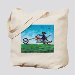 BIKER CAT - Tote Bag