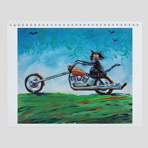 BIKER CAT - Wall Calendar