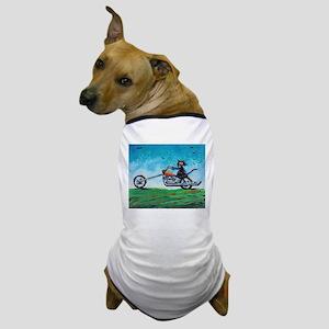 BIKER CAT - Dog T-Shirt
