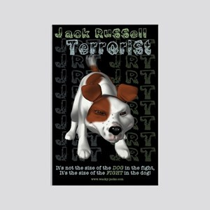 Jack Russell Terrorist Rectangle Magnet