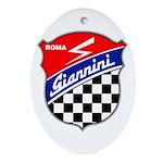 Giannini Oval Ornament