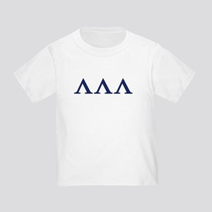 Lambda Lambda Lambda Homecoming Toddler T-S
