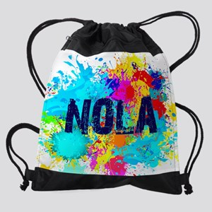 Good Vibes NOLA Burst Drawstring Bag