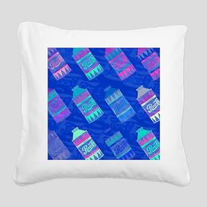 Pepsi Bottles Square Canvas Pillow