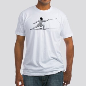 Fencing Fitted T-Shirt