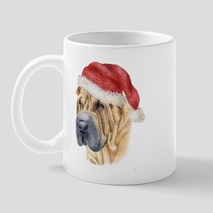 Christmas Shar Pei Mug