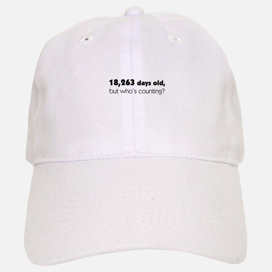 50th Birthday Baseball Baseball Cap