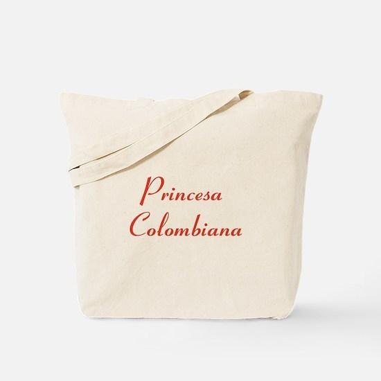Princesa Colombiana Tote Bag