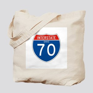 Interstate 70 - OH Tote Bag