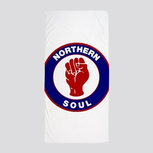 Northern Soul Retro Beach Towel