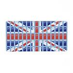 Just British Union Jack Aluminum License Plate