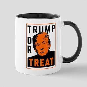 Trump or Treat 11 oz Ceramic Mug