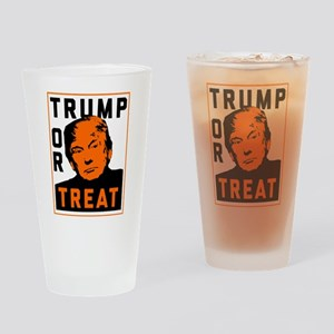 Trump or Treat Drinking Glass