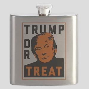 Trump or Treat Flask