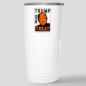 Trump or Treat 16 oz Stainless Steel Travel Mug