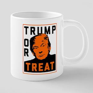 Trump or Treat 20 oz Ceramic Mega Mug