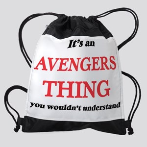 It's an Avengers thing, you wou Drawstring Bag